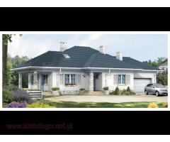 Projekty Domywstylu - domy parterowe